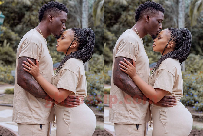 """""""My husband is my happy place"""" – Phindile Gwala Says As She Shared Cute Couple Photo"""