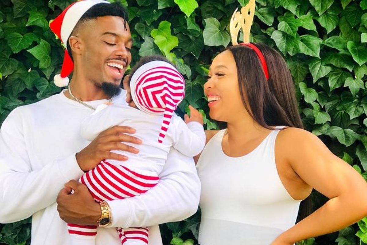 Mzansi actress Simz Ngema And Tino Are The Best Young Parents Ever