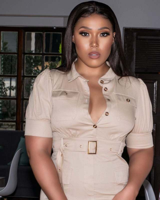 Actress Simz Ngema almost died