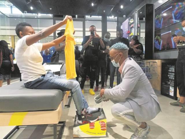 Somizi puts Mamelodi on a standstill after surprise visit