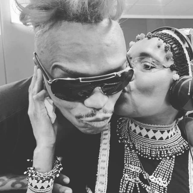 Watch: Somizi shower legendary broadcaster Noxolo Grootboom with presents as she bows out