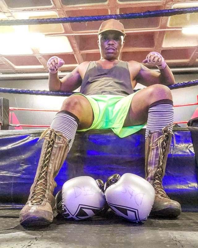 Watch: Idols SA judge Somizi goes on boxing lesson