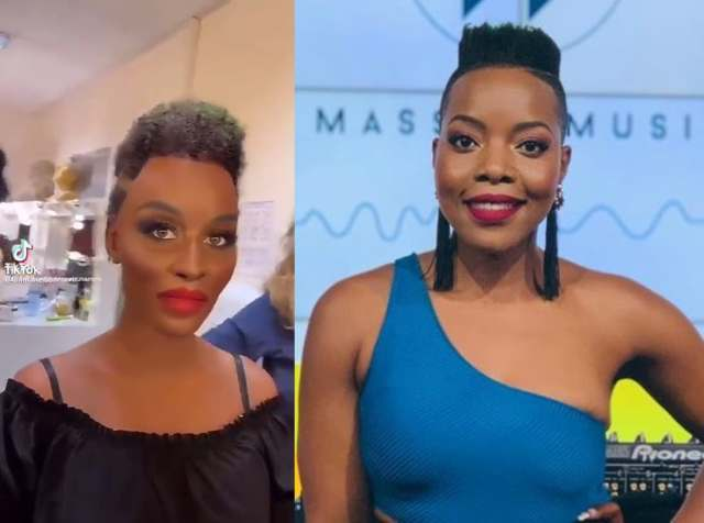 Mzansi fire Bulgarian woman who used a black face to imitate Nomcebo Zikode