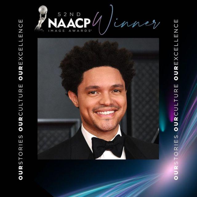 Trevor Noah's The Daily Show wins 2 NAACP Image Awards