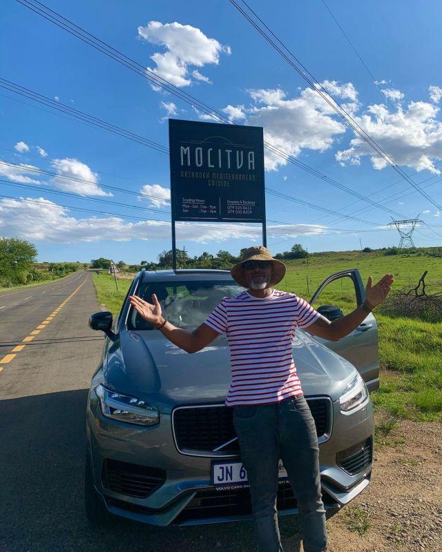 Actor Thapelo Mokoena shows off his luxurious electric car – Photos