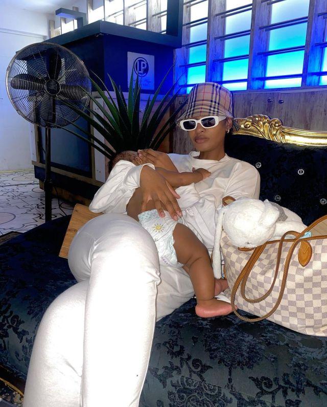 Thobeka Majozi and Khotso serve full Versace drip – Photos