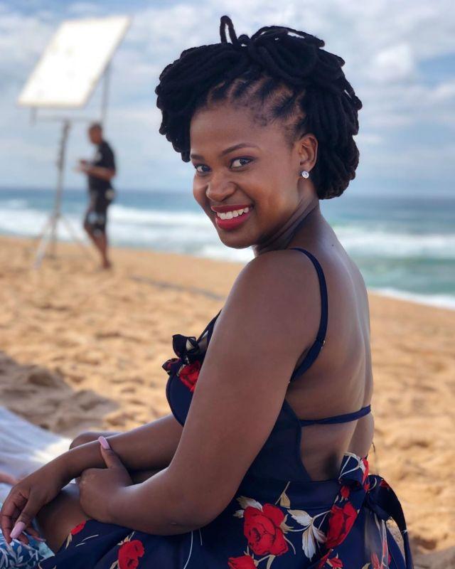 The Queen actress Zenande Mfenyana left in feelings
