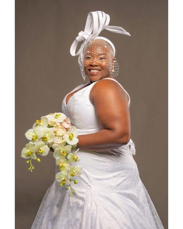 Inside comedian Celeste Ntuli's surprise wedding – Photos