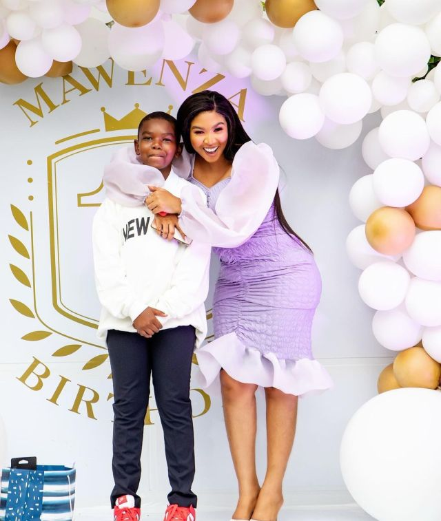 Inside Ayanda Ncwane son's 13th birthday