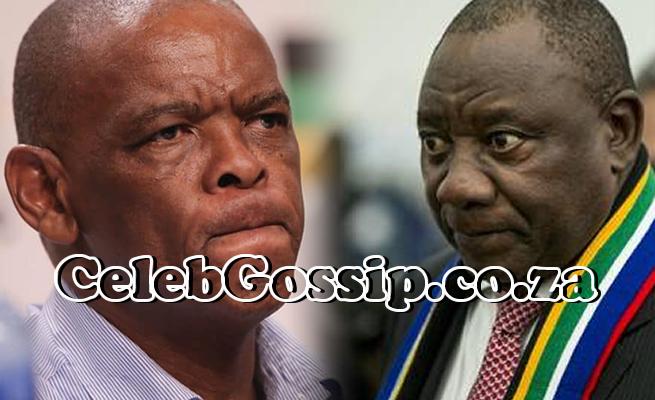 President Cyril Ramaphosa and Ace Magashule fight over Busisiwe Mkhwebane