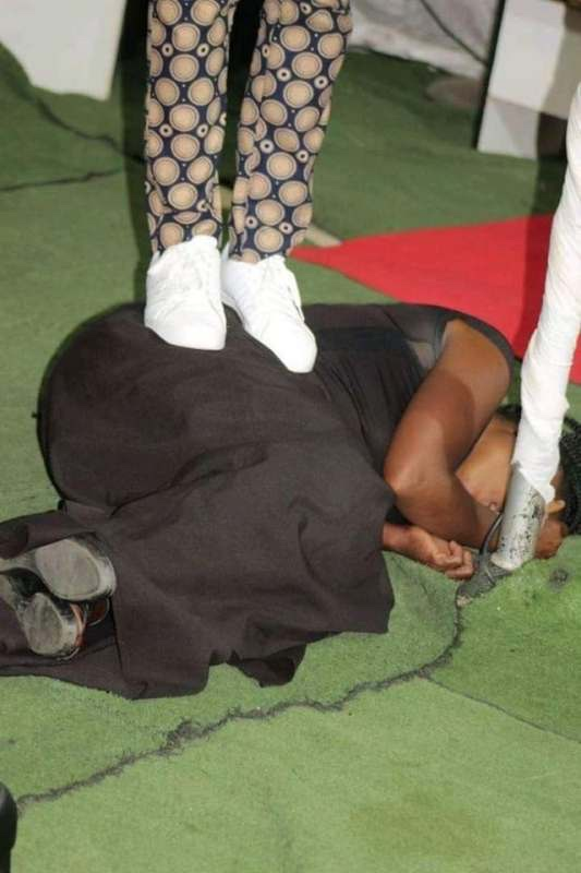 Meet The Pastor Who Farts On the Faces Of Church Members During Deliverance (Photos)