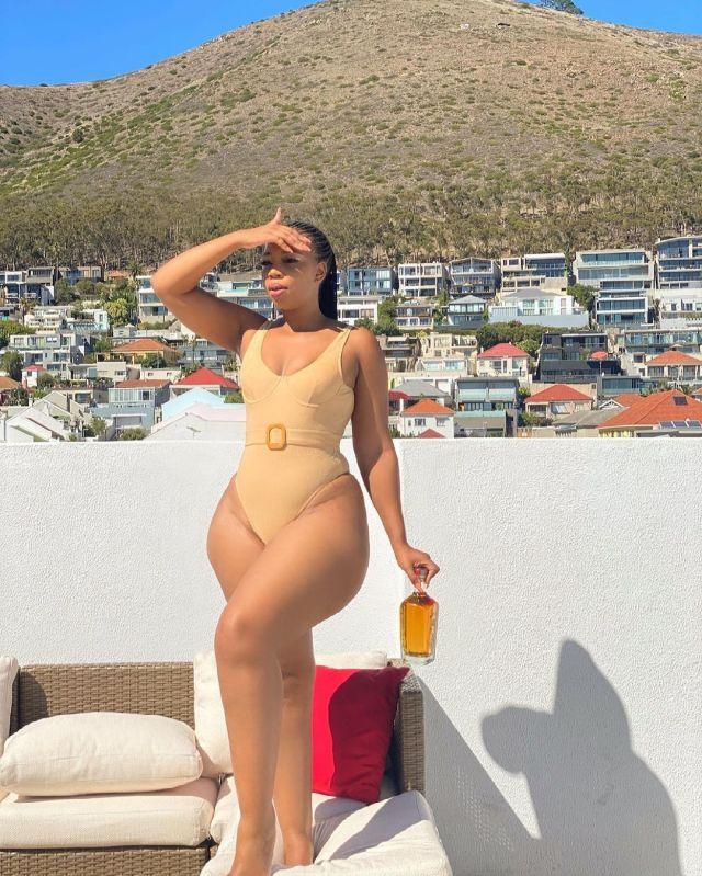 Lulu Menziwa's sizzling bikini pictures break social media