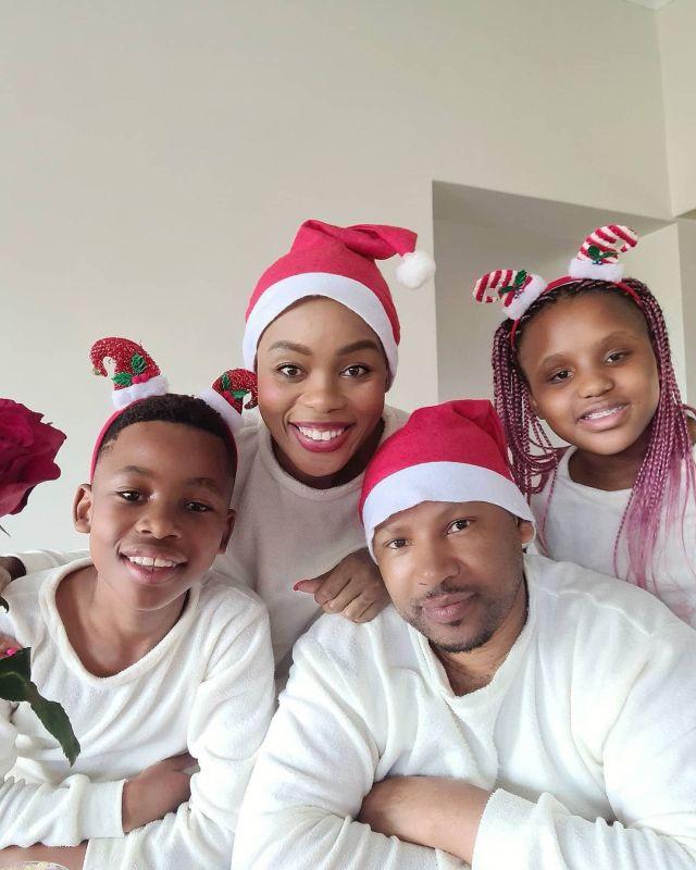 Meet Scandal actress Lusanda Mbane aka Boniswa's husband and kids