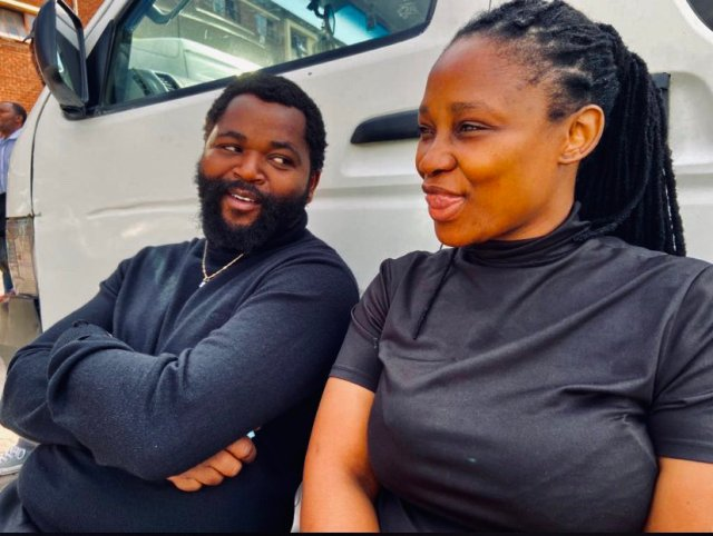 Sjava sparks dating rumor with eHostela actress Andy Mnguni