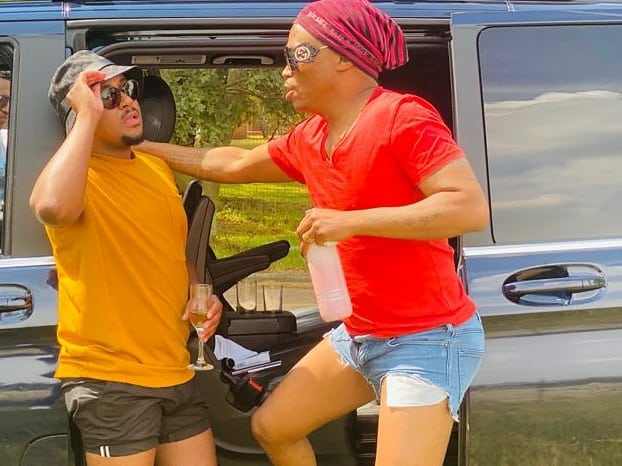 Somizi goes on another vacation with bestie, Vusi Nova – Pictures