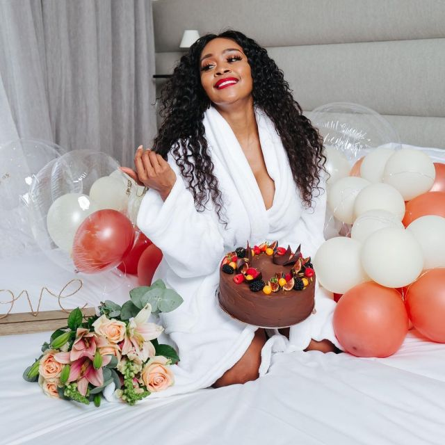Inside Thembi Seete 's Birthday Celebrations – Photos