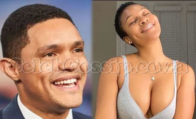 Trevor Noah and actress Nomzamo Mbatha reveal how they got their American Visas after some 'threats'