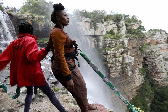 SA Idols Judge Unathi goes on Zip lining adventure – Photos