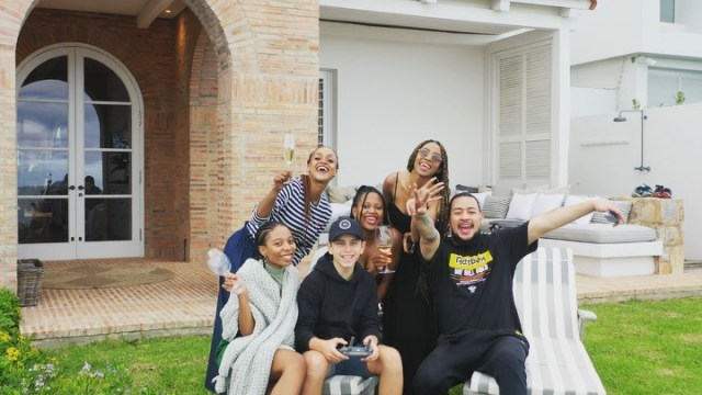 Inside AKA's Easter weekend with wife, Nelli Tembe