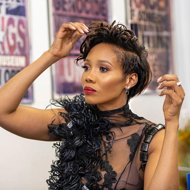 Media personality Azania Mosaka turns 44 today