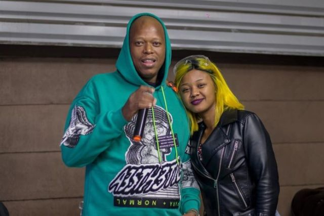 Mampintsha and Babes Wodumo perform at their wedding – Video