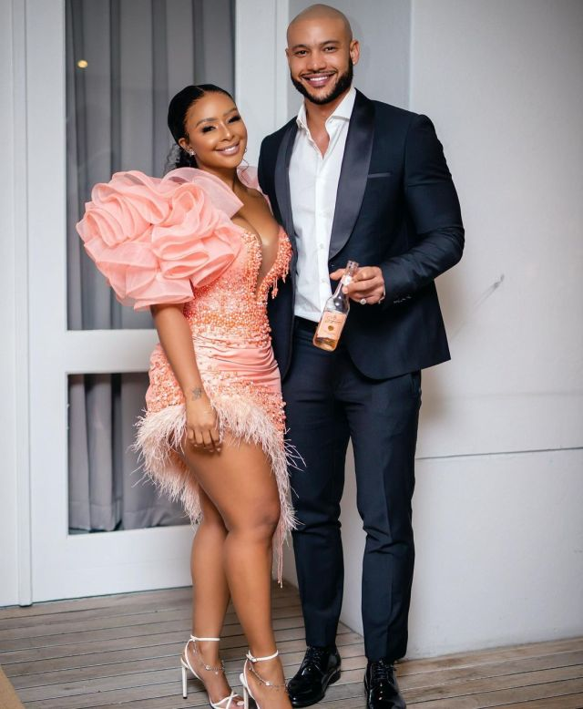 Boity and Legacy actor Anton David Jeftha confirm dating rumours