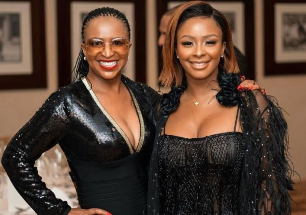 Boity and her mom raise R 50k for abuse victims