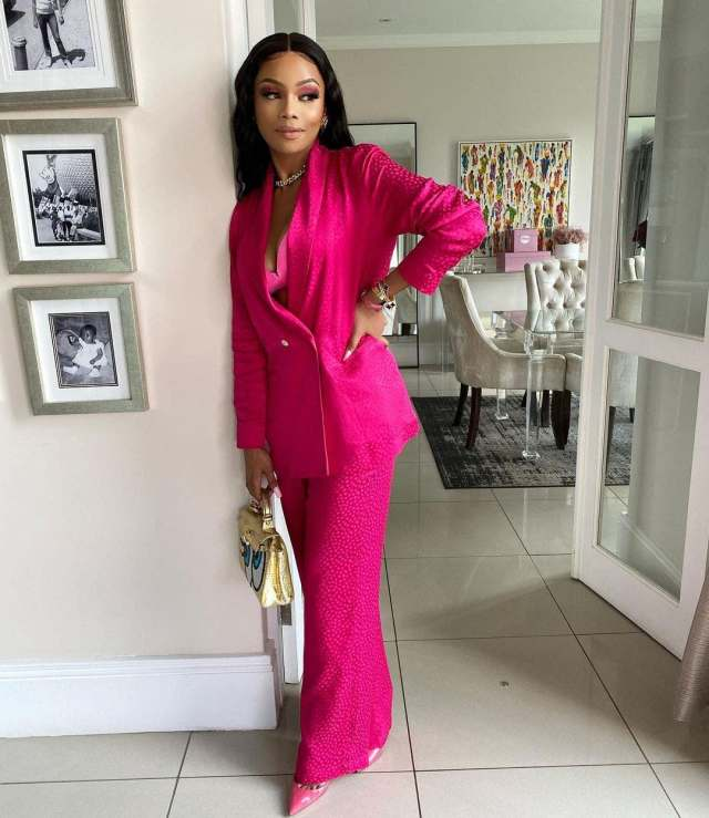 Bonang Matheba mourns death of a family member