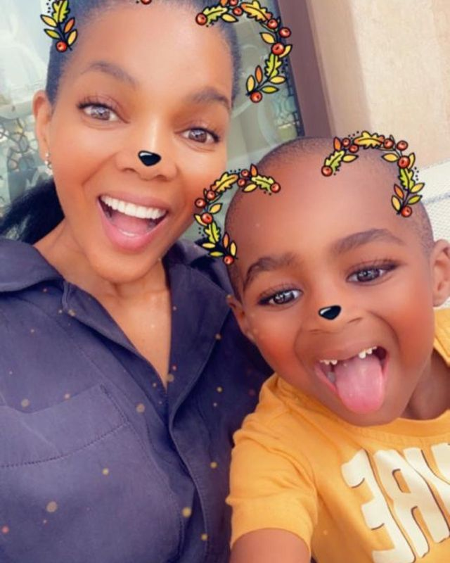 Connie Ferguson's pens a sweet message as grandson turns 6