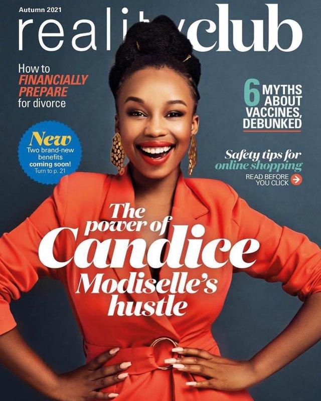 Actress Candice Modiselle Leaves Mzansi Stunned