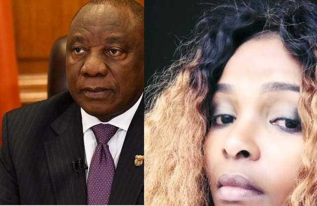 Simphiwe Dana takes aim at President Cyril Ramaphosa