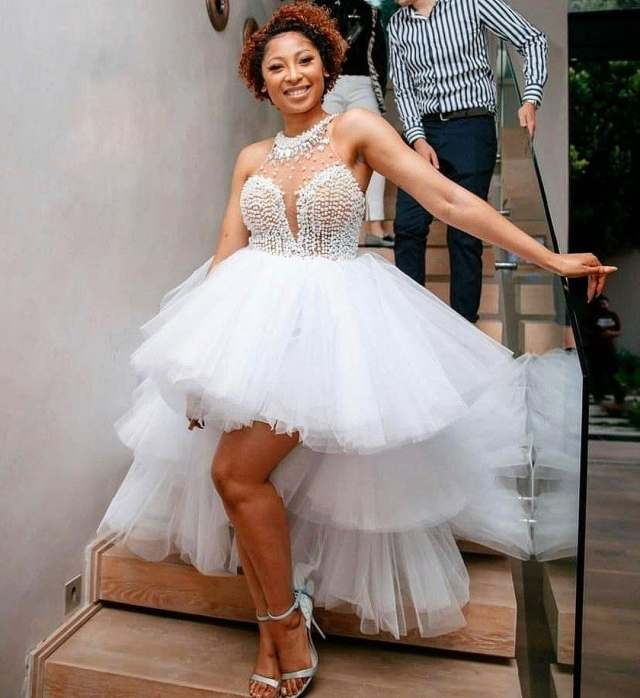 Watch: Enhle Mbali thanks her GBV activists for supporting her