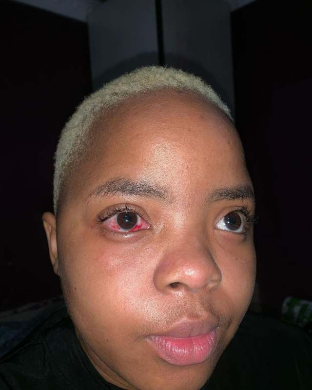 Well-known SA DJ exposed for heavily beating his girlfriend Jackie Mcobothi for years – Photos