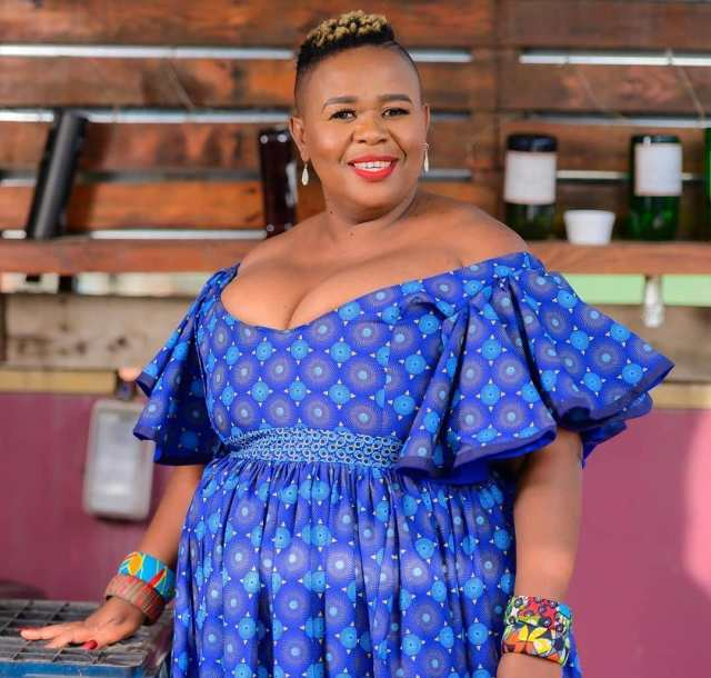 From Cleaner To Our TV Screen, Meet Uzalo Actress Mam Madlala