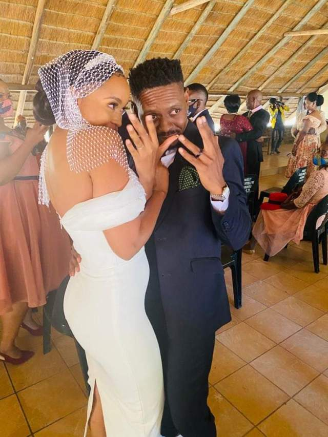 Newly-wed Marang Molosiwa defends Her Marriage