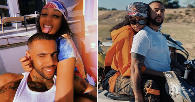 Photos: Nadia Nakai finds love – Dating American rapper Vic Mensa