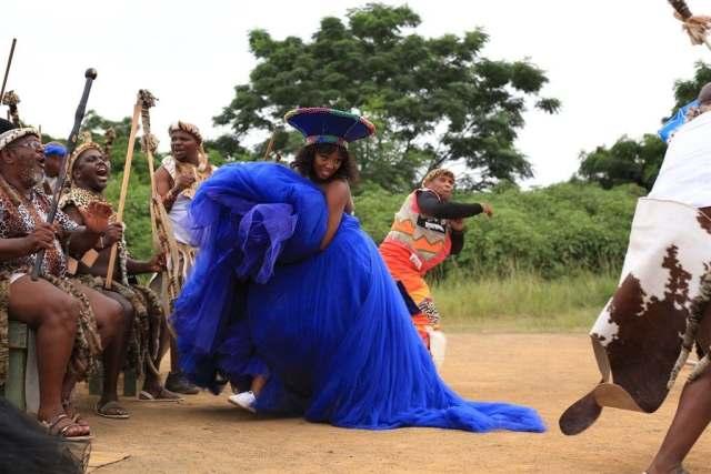 Inside Durban Gen actors Nelisiwe Sibiya (Mbali) & Ntando Mncube (Sbusiso's) beautiful traditional wedding – Photos