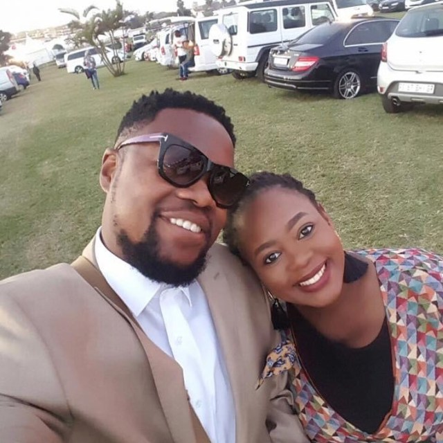 Actress Nolwazi Ngubeni celebrates fifth wedding anniversary