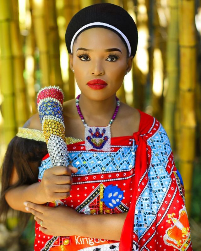 Actress Nomncebo Gumende's Traditional Attire Causes A Stir