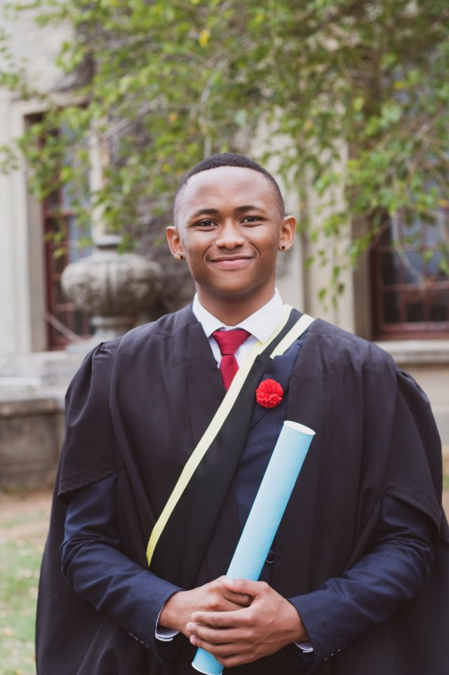 Gomora Star Ntobeko Sishi Graduates