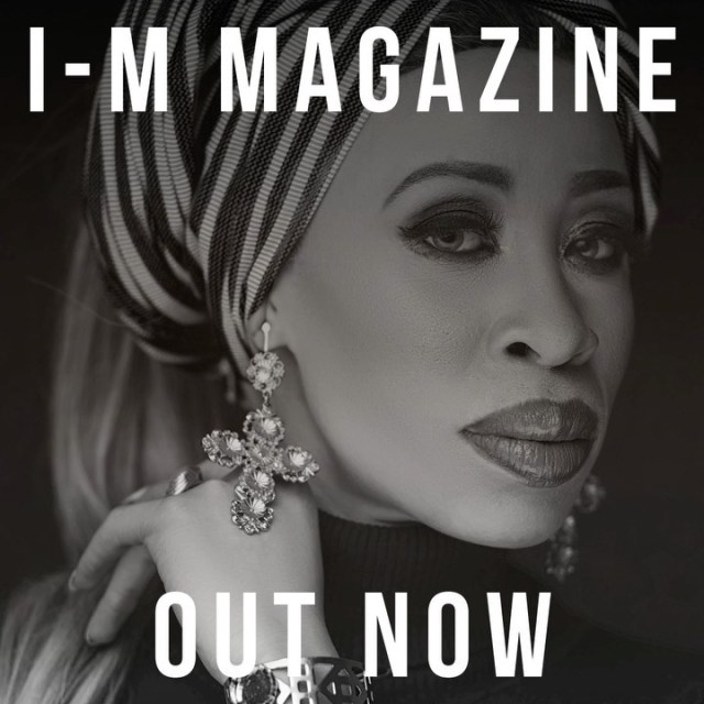 Actress and Model Refilwe Modiselle bags first international magazine cover