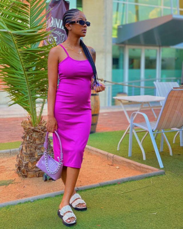 Influencer Sendi debuts her pregnancy