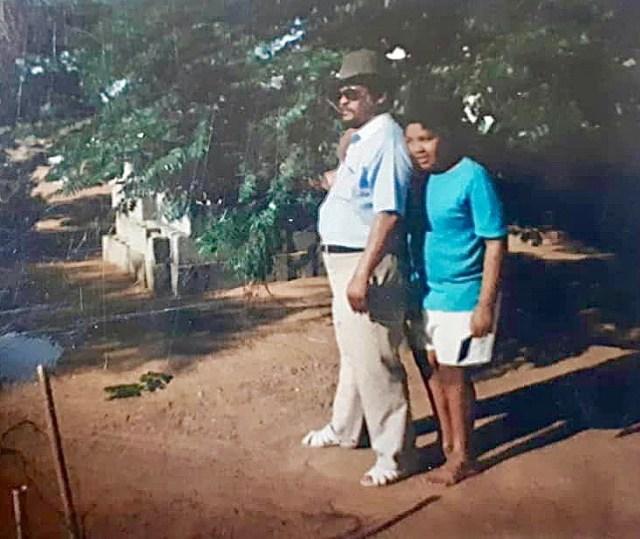 Shona Ferguson remembers his late father