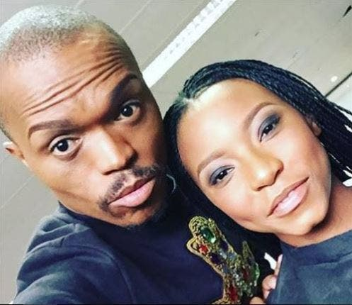 Somizi gifts daughter, Bahumi one of his wigs