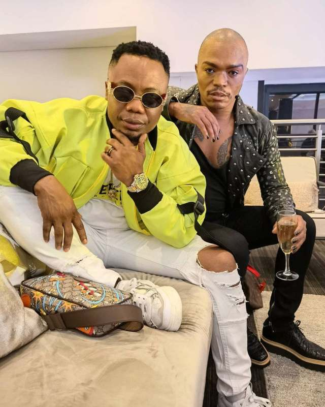 Somizi and DJ Tira having a good time at the club – Pictures