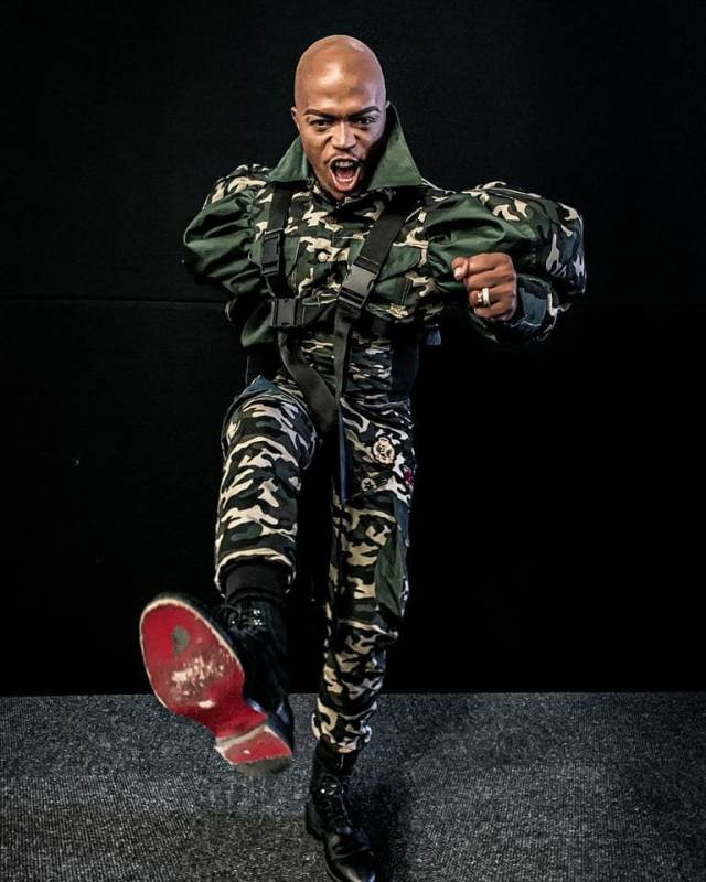 Somizi goes bald! – Pictures