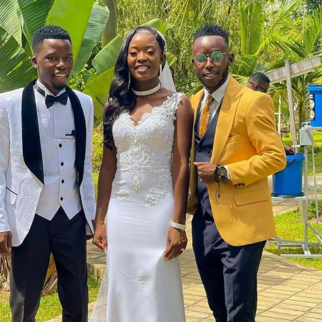 Pics and Videos from comedian Nigel ThaSlick pastor's wedding