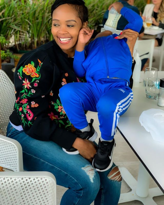 Thembi Seete pens sweet message as son Dakalo turns 3
