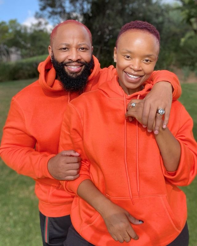 Zoleka Mandela and hubby serve couple goals – Photos