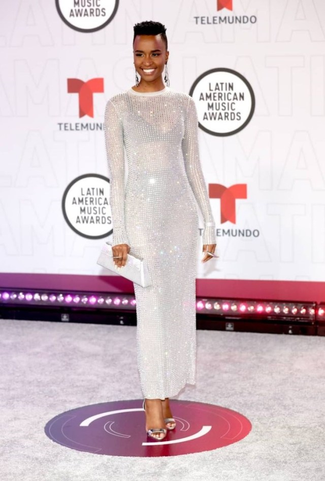 Stunnnig Zozi Takes Over American Awards – Pictures
